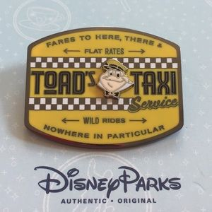 Disney Parks Mr. Toad's Wild Ride Pin